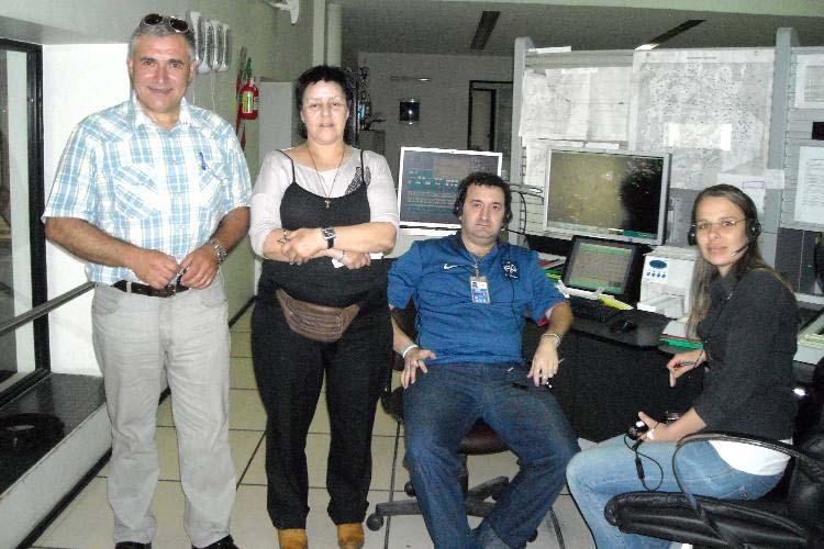 Felipe, LU8DB y Controladoras ANAC en Ezeiza